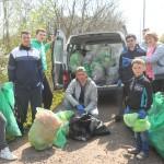 На Рівненщині волонтери зробили Квасилів чистим