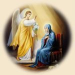 З Благовіщенням Пресвятої Богородиці!