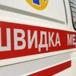 На Рівненщині жінка та чоловік пошкодили автомобіль швидкої допомоги