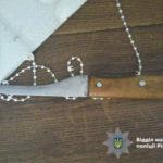 На Рівненщині крадій кинувся з ножем на слідчу