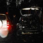 У Рівному поліцейські встановлюють обставини загоряння двох автомобілів