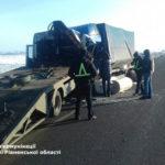 На «Київ-Чоп» зіткнулись дві вантажівки