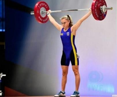Спортсменка з Рівненщини Марія Тимощук виборола «золото» на Кубку України з важкої атлетики