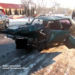 На Рівненщині в результаті зіткнення двох авто постраждали четверо осіб