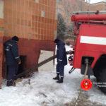 На Рівненщині з підтопленого підвалу гуртожитку рятувальники відкачали понад 60 м.куб. води