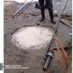 Двох старателів застукали під час видобутку «сонячного» каміння