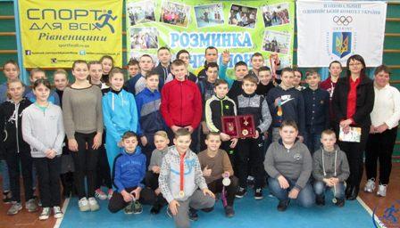 Паралімпієць Ігор Косенко розповів школярам, чому став голкіпером