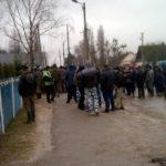 Старателі блокують поліцію, бо хочуть видобувати бурштин