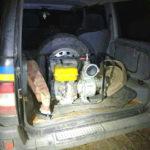 У північних районах поліцейські вилучили три мотопомпи