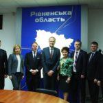 Представники ЄС відзначили позитивний досвід Рівненщини у децентралізації