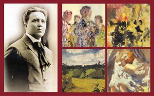 У Рівному презентують 60 картин художника Георгія Косміаді