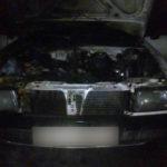 Поліцейські встановлюють обставини загоряння автомобіля у Здолбунові