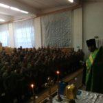 На Рівненському полігоні понад 200 військовослужбовців приступили до Таїнств Сповіді та Причастя