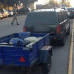 На Рівненщині поліцейські вилучили понад 13 кілограмів бурштину та дві мотопомпи