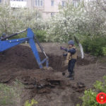 На Рівненщині у житловому секторі під час проведення земляних робіт знайшли два снаряди