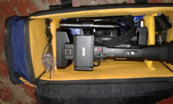 Оперативники затримали зловмисників, які в Рівному викрали у знімальної групи апаратуру
