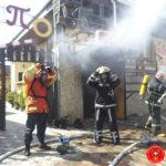 В кафе була пожежа