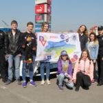 Флешмоб на Рівненщині: «Безпека руху – це життя»