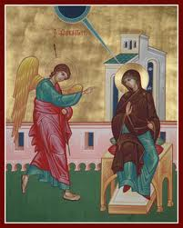7 квітня Благовіщення Пресвятої Богородиці