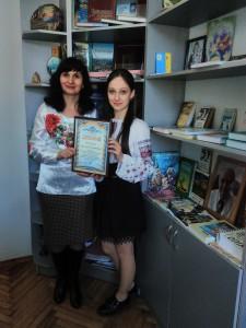Студентка Дубенського медколеджу посіла друге місце на Міжнародному мовно-літературному конкурсі