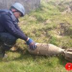 Селяни знайшли бойову бомбу