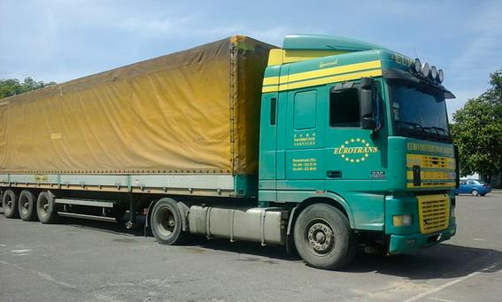 На Рівненщині затримали вантажівку із незаконними пиломатеріалами на 60 тисяч гривень