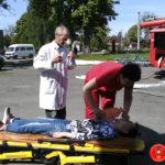 На Рівненщині рятувальники провели тактико-спеціальні навчання у будинку школяра та молоді