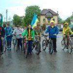 На Володимиреччині вже вдруге пройшла велоестафета «Маки пам'яті»