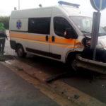 На «Київ-Чоп» у ДТП потрапила «швидка», постраждала медсестра.