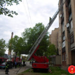 У Рівному на Макарова була пожежа