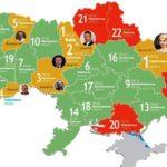 За підсумками 2016 року Рівненська область – шоста