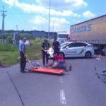 Поблизу Квасилова під колеса автівки потрапив велосипедист