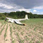 Пілот планера, що розбився, помер у польоті.