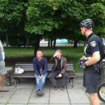 Від вітань до патрулювань: перший день велопатруля в Рівному
