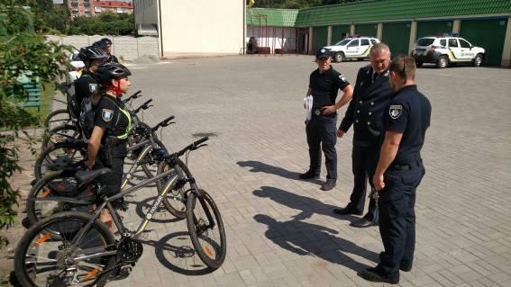 Сергій Князєв проінспектував рівненський велопатруль