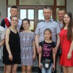 Діти з прифронтової зони — майбутні поліцейські завітали на Рівненщину