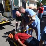 У Рівному рятувальники показували, як рятувати людей на воді