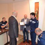 Рівненських рятувальників відзначили грамотами Служби безпеки України області
