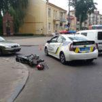 Унаслідок ДТП у Рівному постраждав мотоцикліст