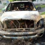 Поліцейські розпочали досудове розслідування за фактом загоряння двох автомобілів у Дубровиці