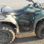 На Рівненщині поліцейські вилучили у страрателів мотопомпу та квадроцикл