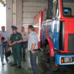 Рівненські рятувальники з робочим візитом відвідали столицю Республіки Білорусь