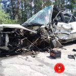 На Рівненщині рятувальники деблокували травмованого водія з понівеченого внаслідок ДТП автомобіля