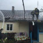 Внаслідок пожежі в житловому будинку господиня потрапила в лікарню