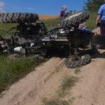На Рівненщині унаслідок перекидання трактору загинув його водій
