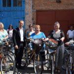 Рівненським медикам купили 37 новеньких велосипедів