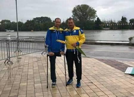 Веслувальник з Рівненщини – серед переможців чемпіонату Європи