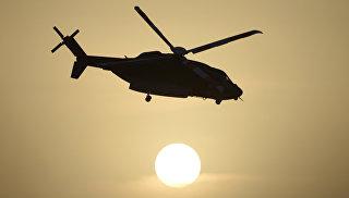На Рівненщині над полями літав вертоліт та розпилював хімікати