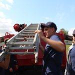 Рівненські вогнеборці-добровольці переймають досвід польських колег