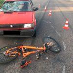 Поблизу Рівного у ДТП постраждав велосипедист